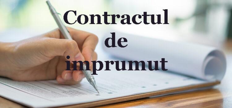 contract de imprumut